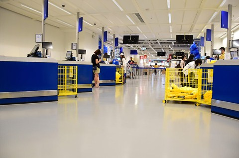 IKEA Furnish Hong Kong Store with Specialist Floor