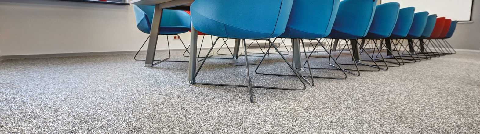 Joint-Free Natural Stone Finishes Perfectly Suited for  Internal and External Commercial Environments.