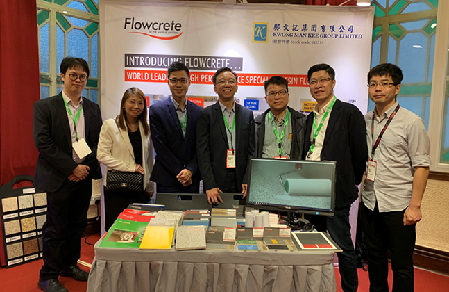Flowcrete Hong Kong and KMK participate in BCI Equinox 2019