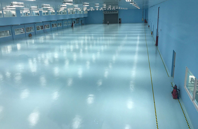 Flowcrete Vietnam provide hygienic flooring solutions for Satori Mineral Water's manufacturing and bottling facility