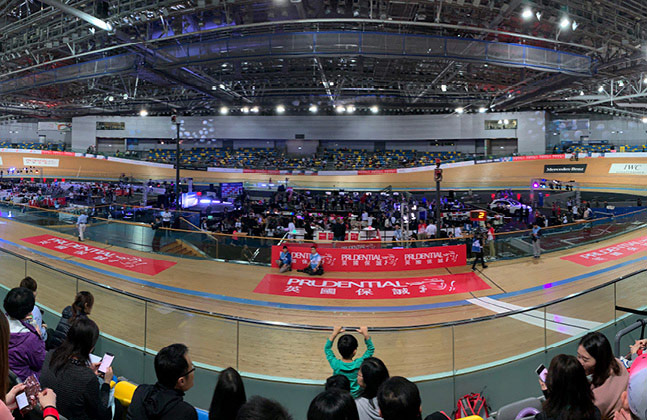 Events at the Hong Kong Velodrome have taken place on Flowcrete's floors since the site was opened