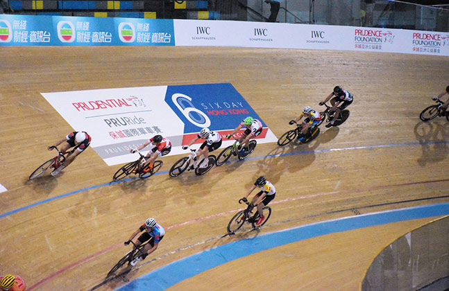 Flowcrete Supports Cycling Series at Hong Kong Velodrome