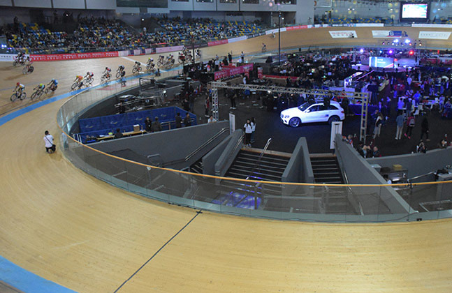 The Six Day Cycling Series was a recent highlight of the velodrome's calendar