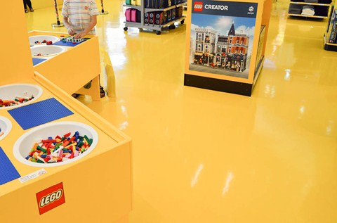 LEGOLAND Adds Colour and Creativity with Flowcrete Floors