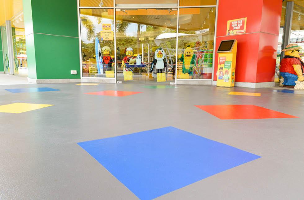 LEGOLAND Malaysia Refurbishes with Flowcrete Floors