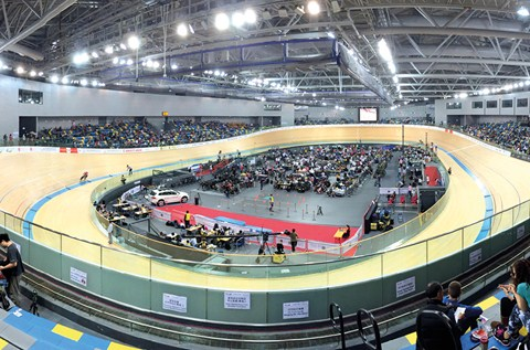 Elite Floors for Elite Sports at Hong Kong's New Velodrome