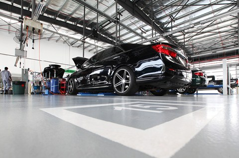 UMW Toyota Shows Off with new Service Centre Surface