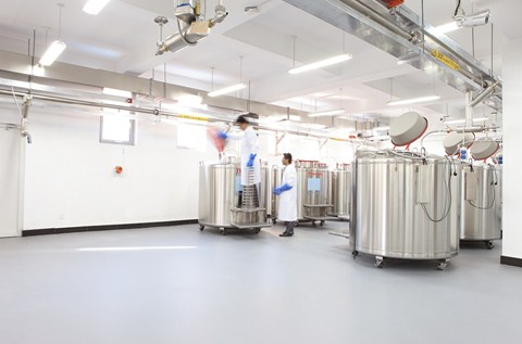 World-Class Hospital Shielded by Flowcrete