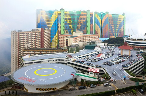 Resorts World Genting Refurbishes Helipad With Deckshield