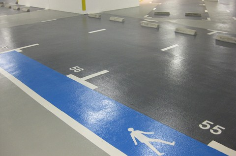 Sustainable Coatings Add Luxury Finish To Car Parks