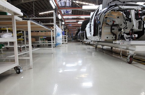 Hyundai Manufacturer Chooses Flowcrete Antistatic Flooring
