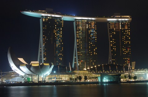 Marina Bay Sands Gets High Roller Treatment
