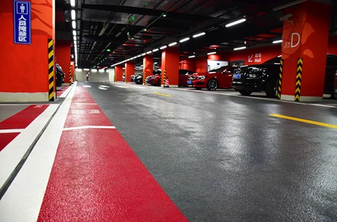 Specialist Car Park Coating Applied at Parc Central