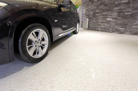 Sustainable Floor Sparkles for BMW-Brilliance