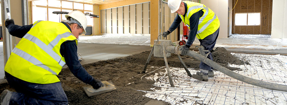 Sub Floor Screeds & Moisture Barriers