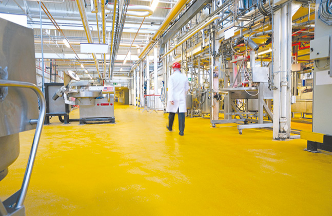 Hygienic Flooring Solutions For The Food Industry Our News