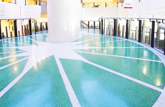 Mondéco Seamless Terrazzo Timeless Flooring For The Long