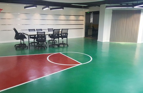 Yegin Industries Scores Sales on Flowcrete's Sports Flooring