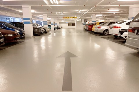 Award-winning Hotel Regenerates Car Park with Deckcoat EP