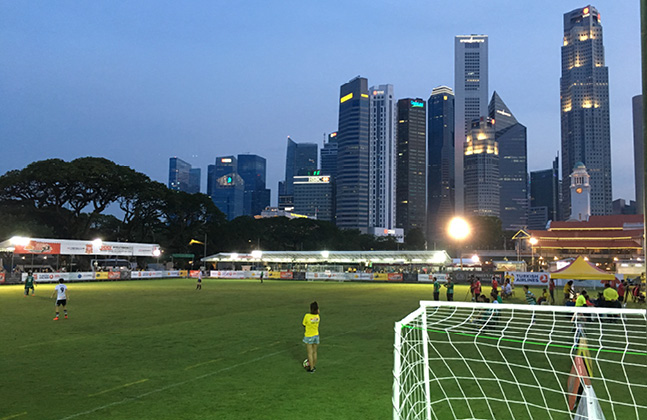 Flowcrete Supports Singapore Soccer Spectacle