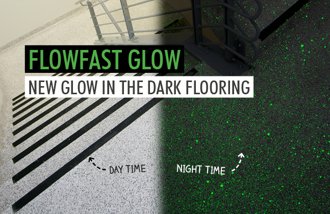 Light Up the Floor with Flowcrete Asia's New Glow in the Dark Finishes