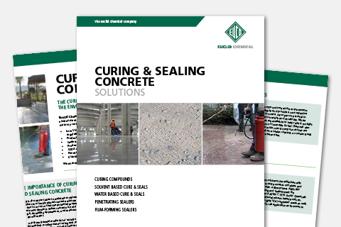 Curing and Sealing Concrete Solutions